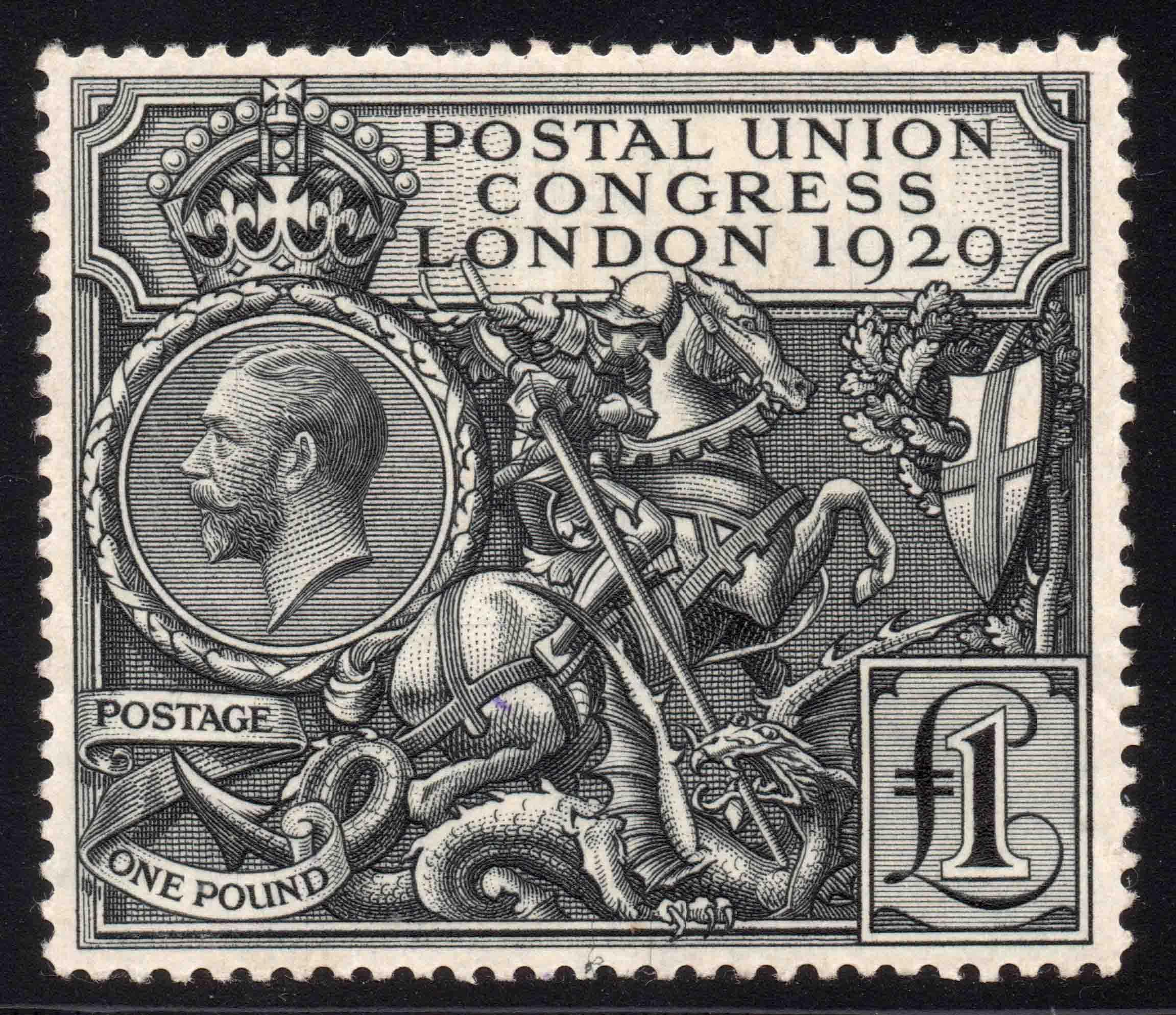 1929 £1 PUC Fresh UM