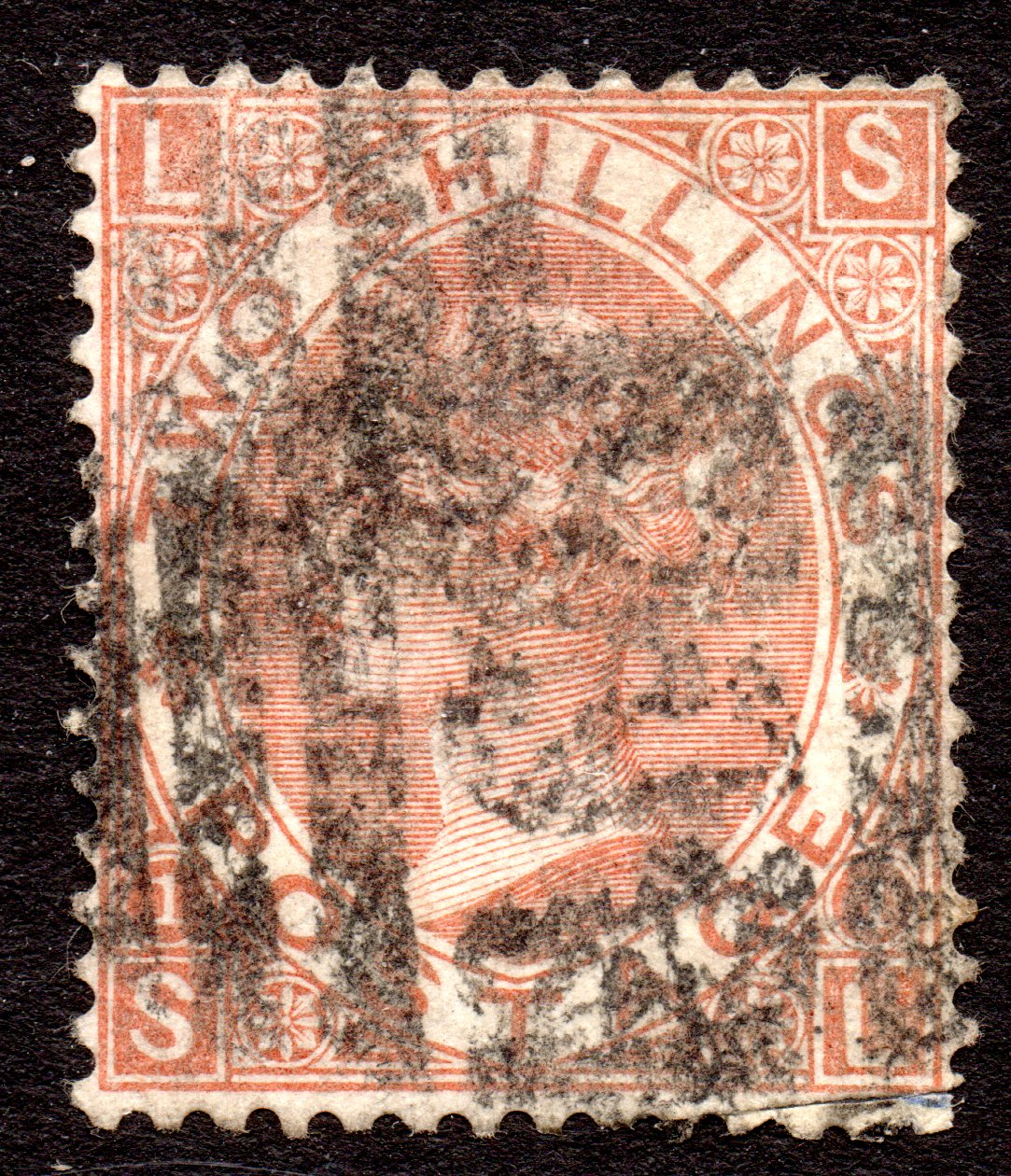QV 2s Brown with Excellent Deep Colour Improved Perfs SE - Scarce Stamp SG121 - SOLD
