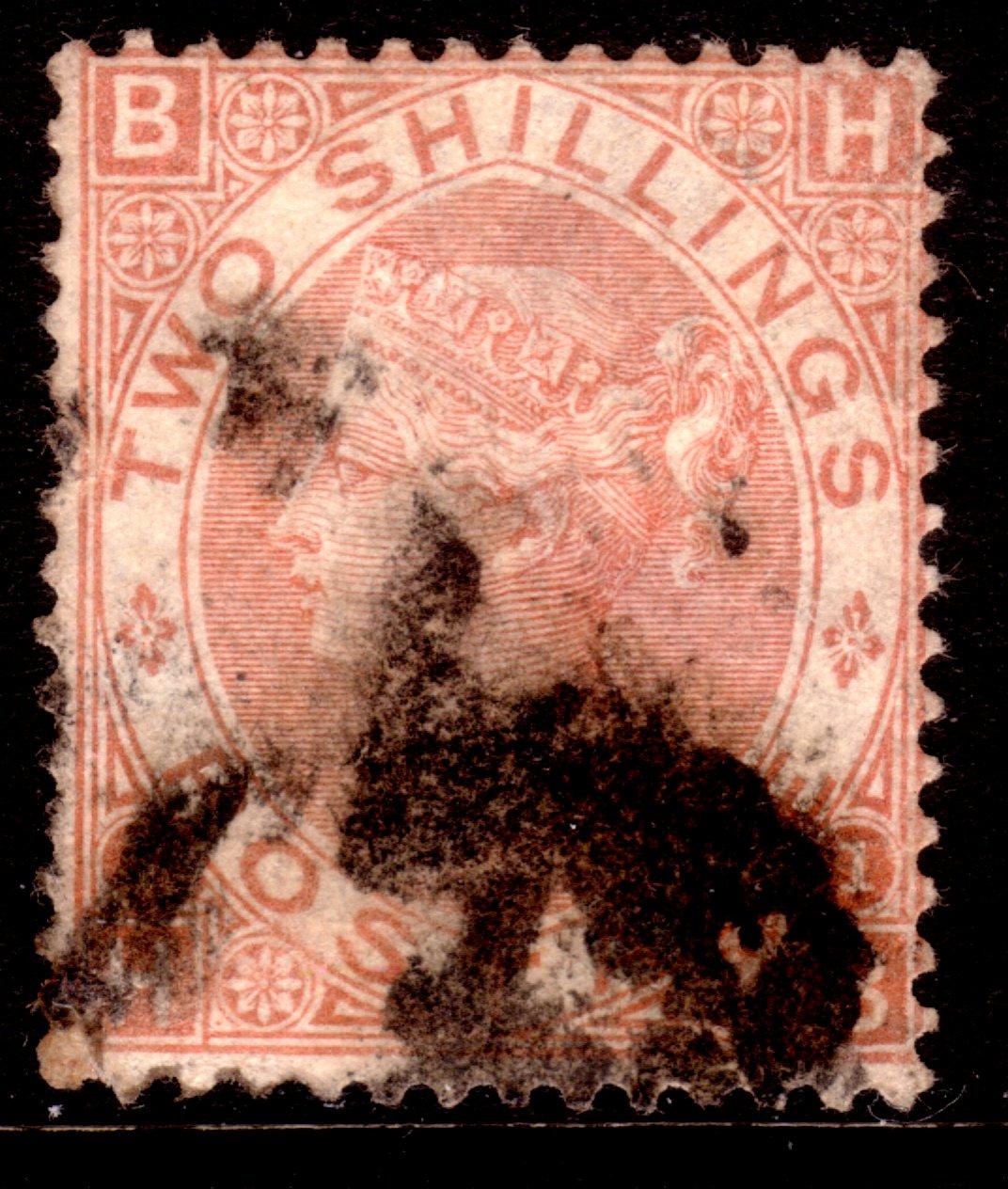 1880 2 Shilling Brown Excellent Colour - SOLD