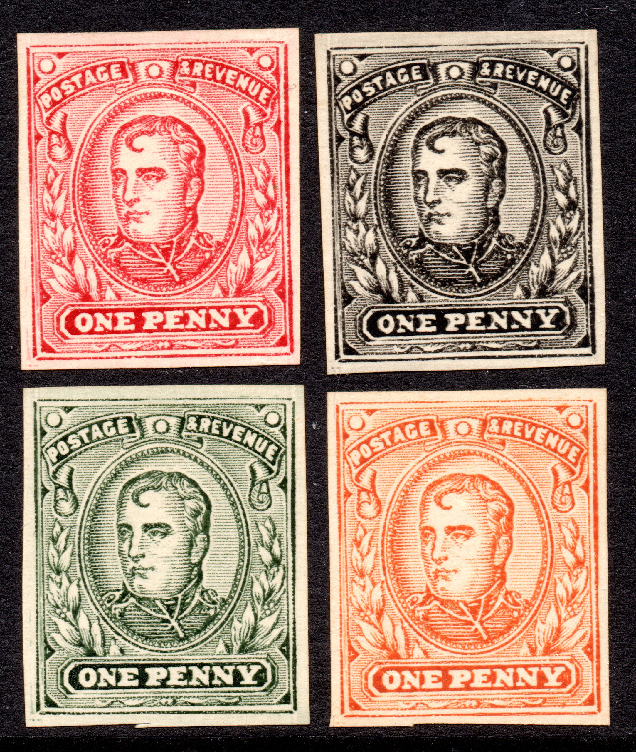 German Origin Anti Boer War PROPAGANDA Set of Four
