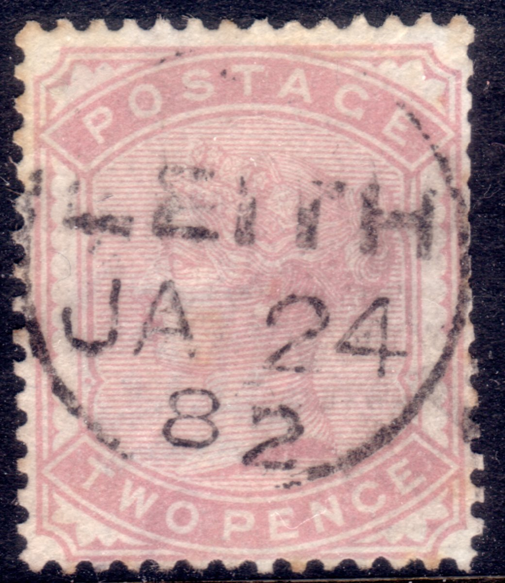 1880 2d Pale Rose Superb Leith CDS