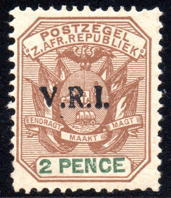 LYDENBURG (UNDER BRITISH OCCUPATION) 1900 2d V.R.I. Overprint Mounted Mint sg3 - SOLD