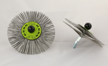 Stainless Steel Flat Wired Brush - HARD