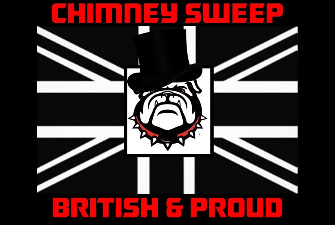 British Sweep Van Decal