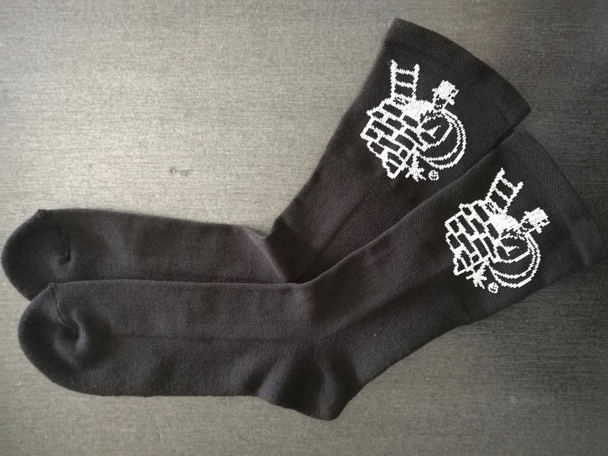 'Sooty Clobber' - Chimney Sweep Socks