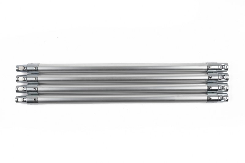 22mm Aluminum Rod (Large Button) (Half Length) - AR22-H