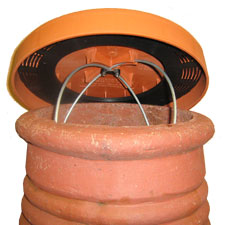 C-Cap Large Terracotta (Cap Size 350mm Outside Edge)