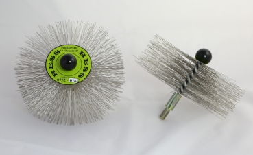 Stainless Steel Crimped Wire Brush - MEDIUM