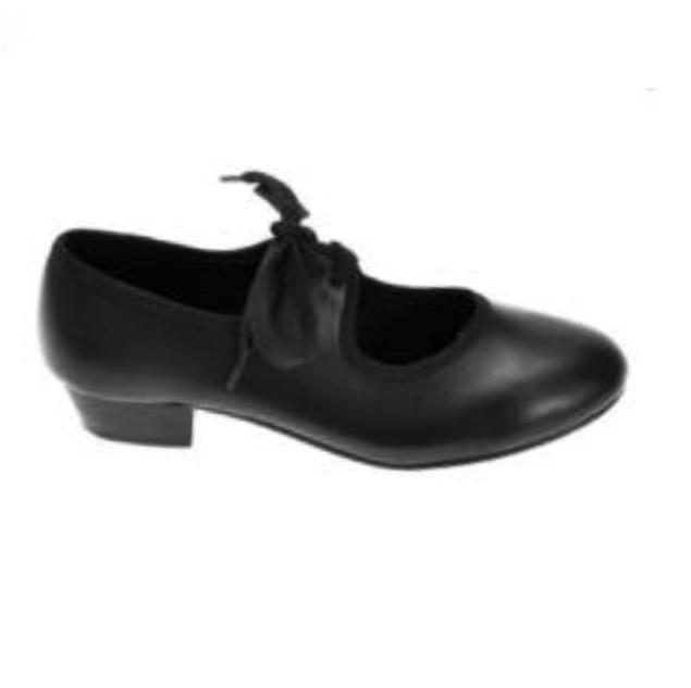 Black girls Tap shoes (Junior)