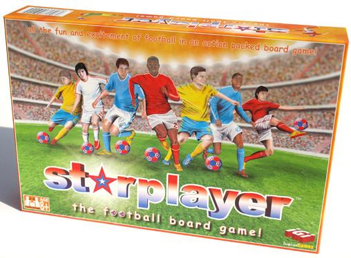 STARPLAYER THE FOOTBALL BOARD GAME