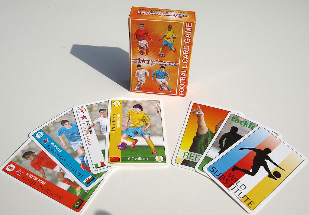 STARPLAYER FOOTBALL CARD GAME
