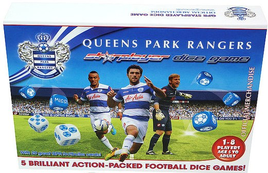 QUEENS PARK RANGERS STARPLAYER DICE GAME