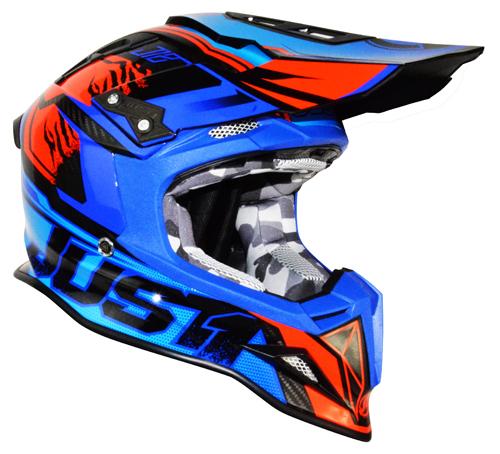 JUST1 Helmet J12 Dominator Blue-Red