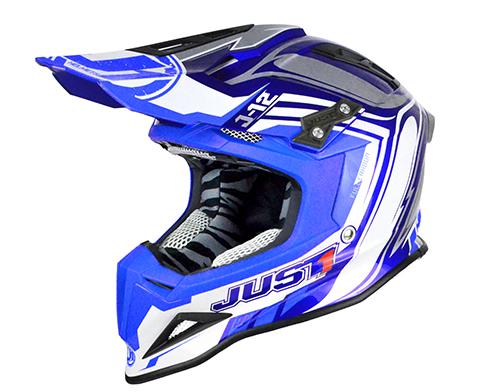 JUST1 Helmet J12 Flame Blue