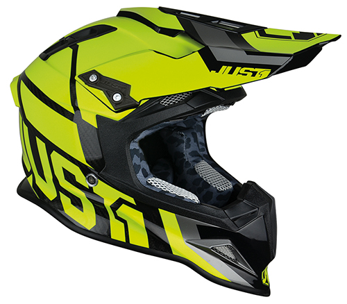JUST1 Helmet J12 Unit Yellow