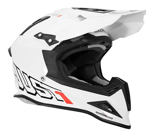 JUST1 Helmet J12 Solid White