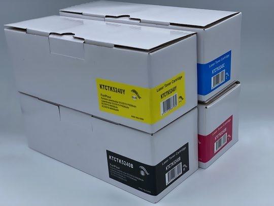 Kyocera TK5240 - Black/Cyan/Magenta/Yellow Toner Cartridge