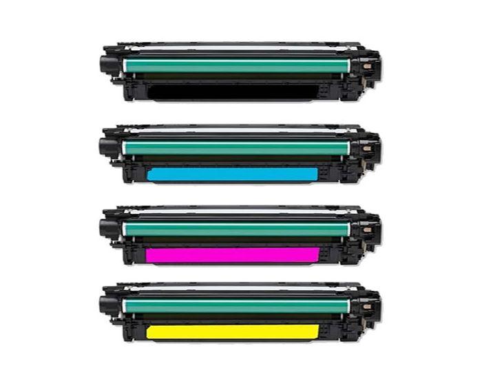 HP CE340/341/342/343 Black/Cyan/Magenta/Yellow Toner Cartridge