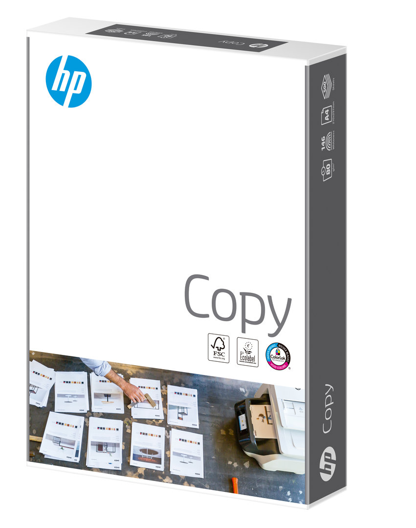 HP A4 Print/Copier Paper 80 gsm - 5 x 500 Sheets for £15