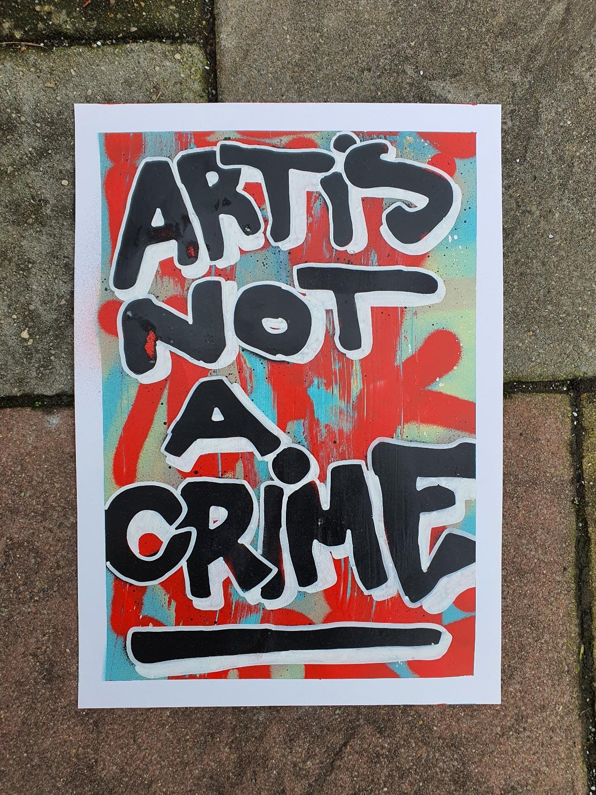 Graffiti Druck