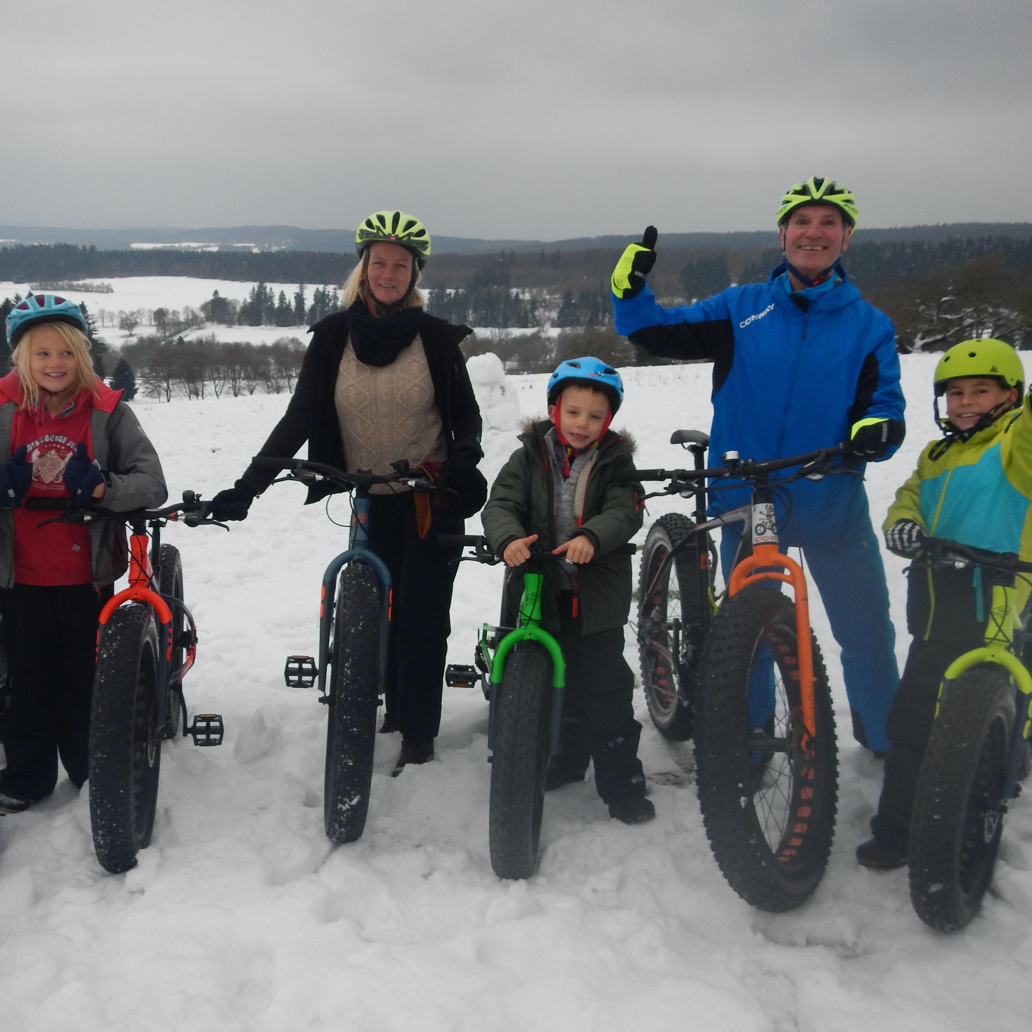 Fat Bike Fun für die Familie