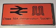Class 504 Badge