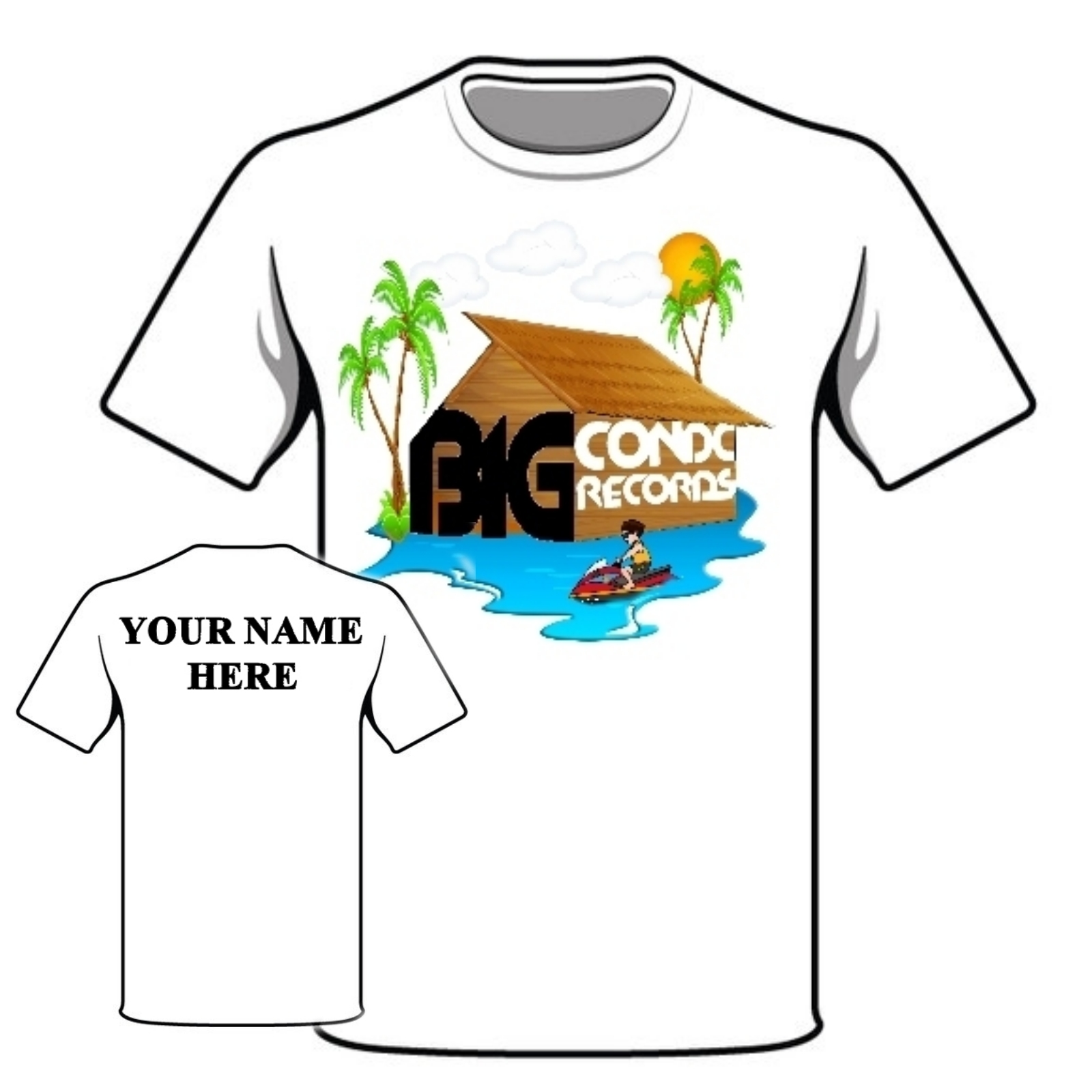 Big Condo T - Shirt , S, M, L, XL, XXL