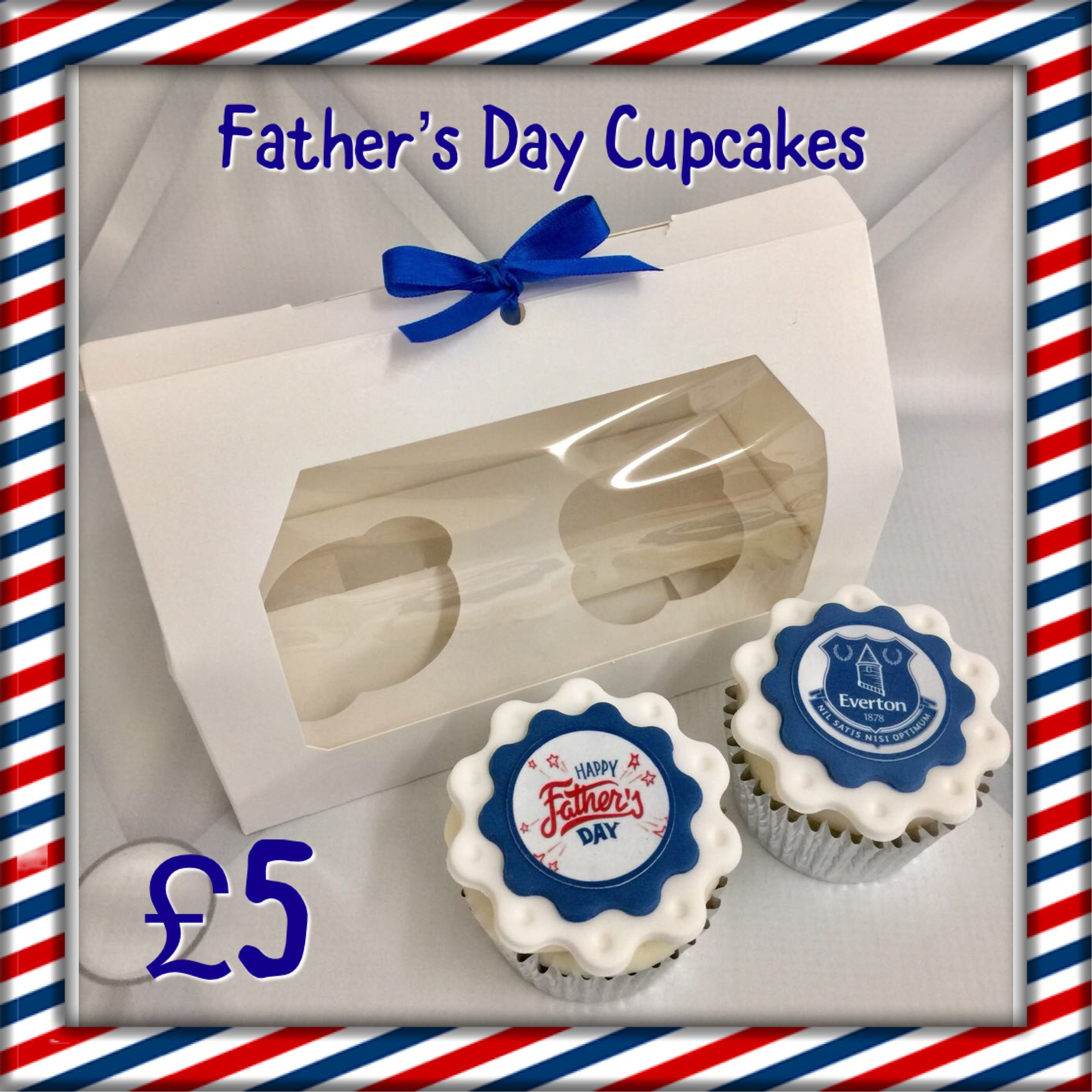 EFC Father's Day Cupcakes
