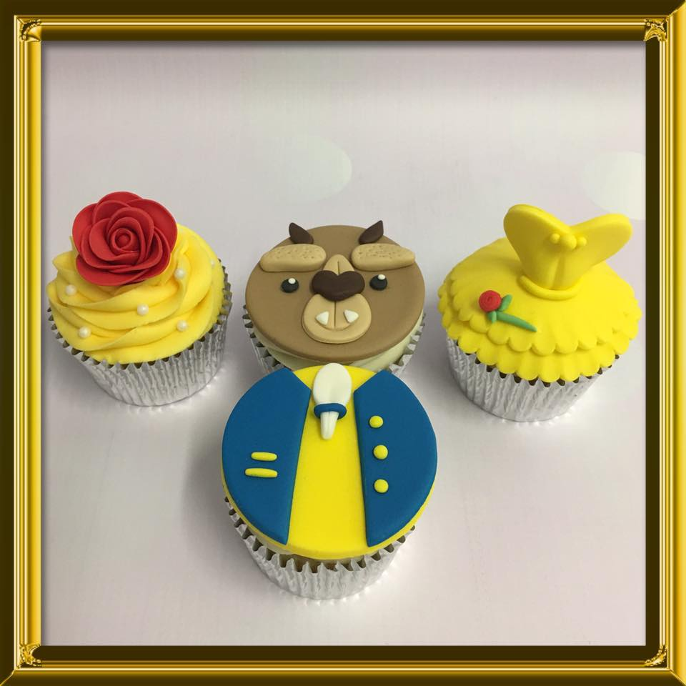 Beauty & The Beast Cupcake Class - SOLD OUT