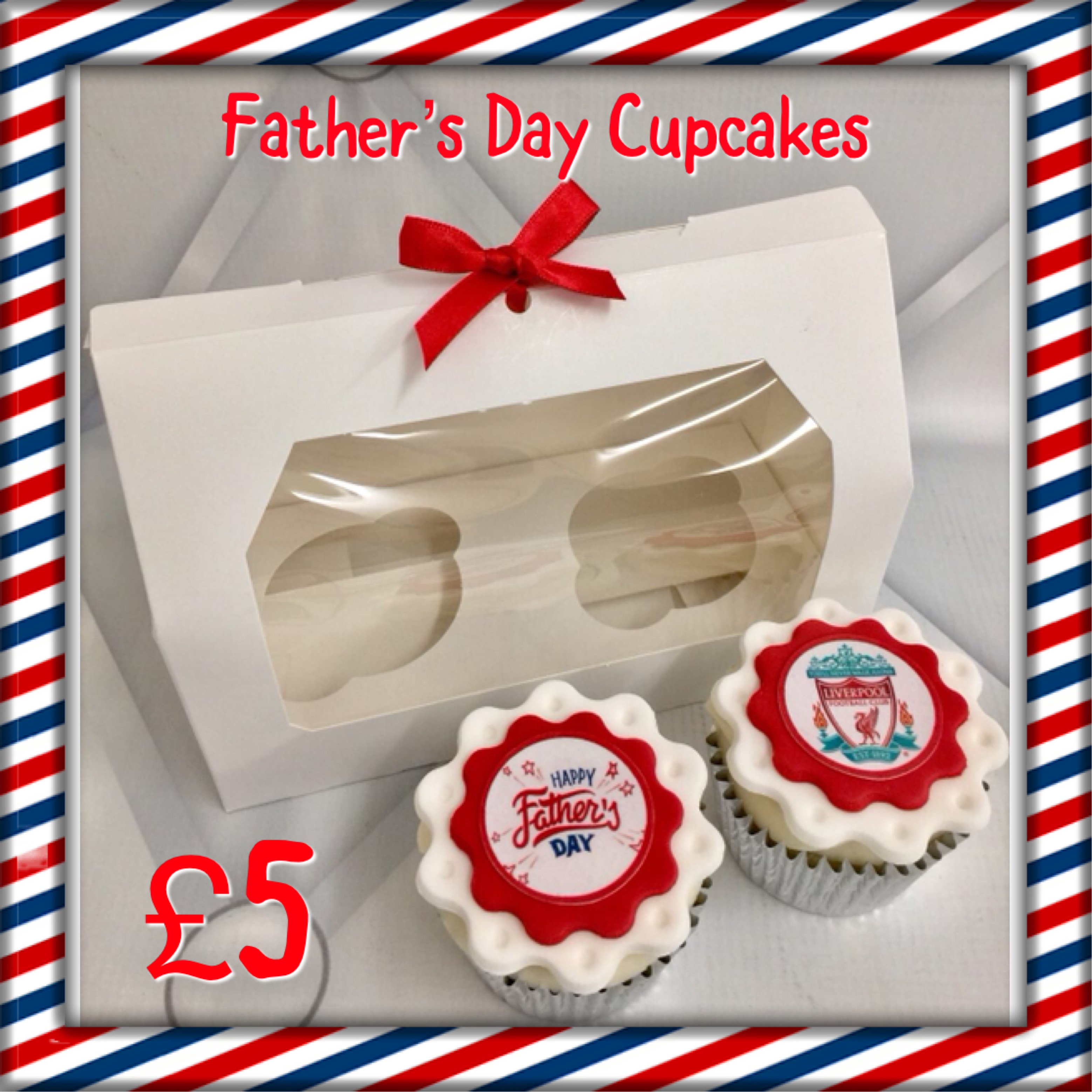 LFC Father's Day Cupcakes