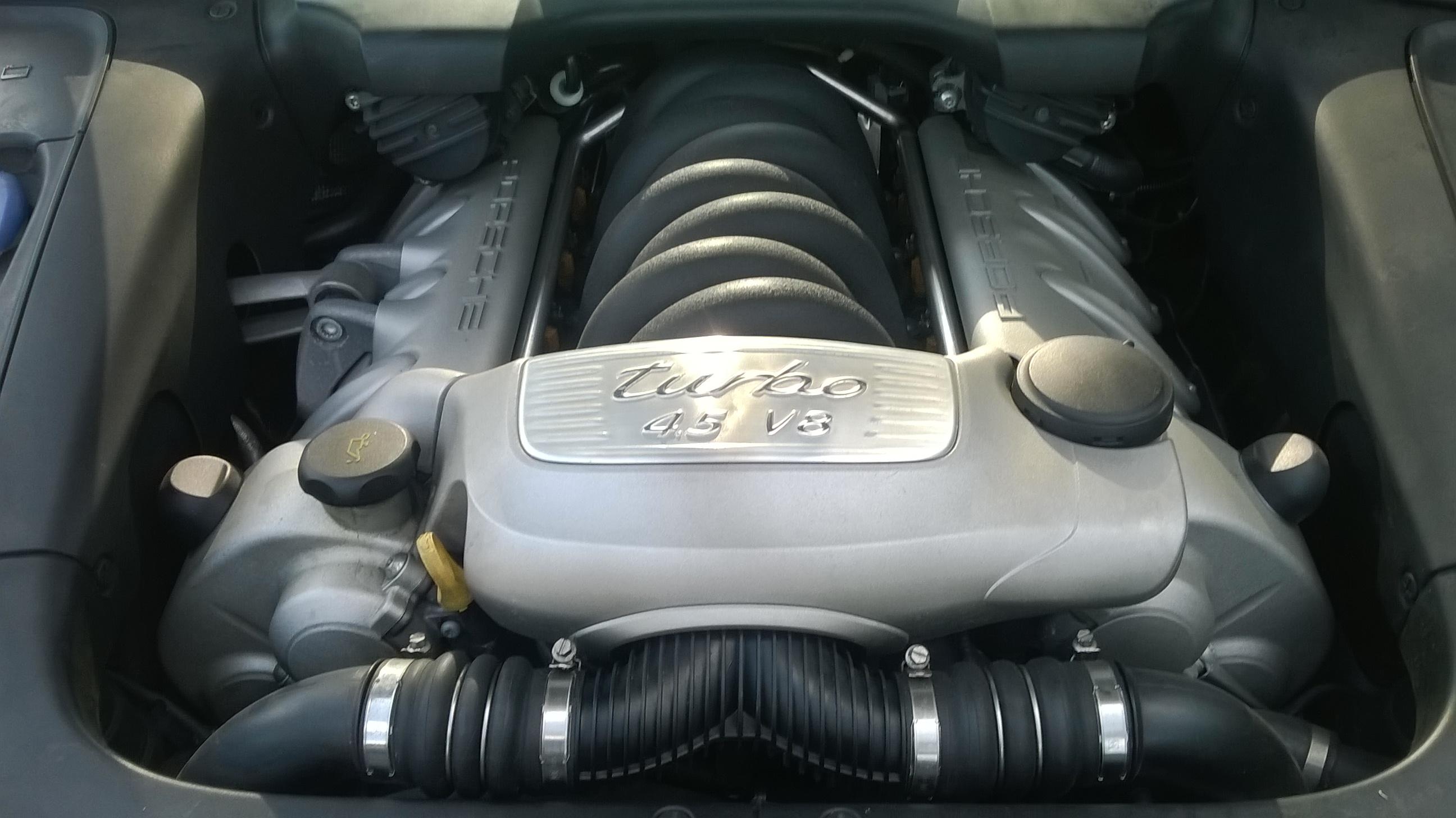 Cayenne Turbo Motor 4,5L V8
