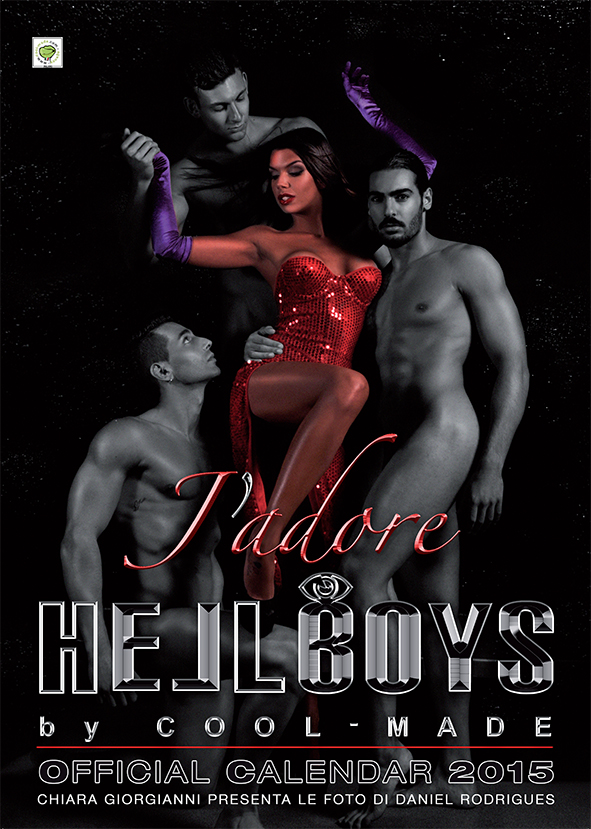 HELL BOYS J'adore - Official Calendar 2015