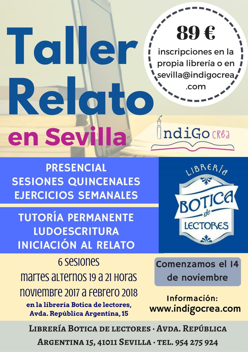 TALLER RELATO I SEVILLA