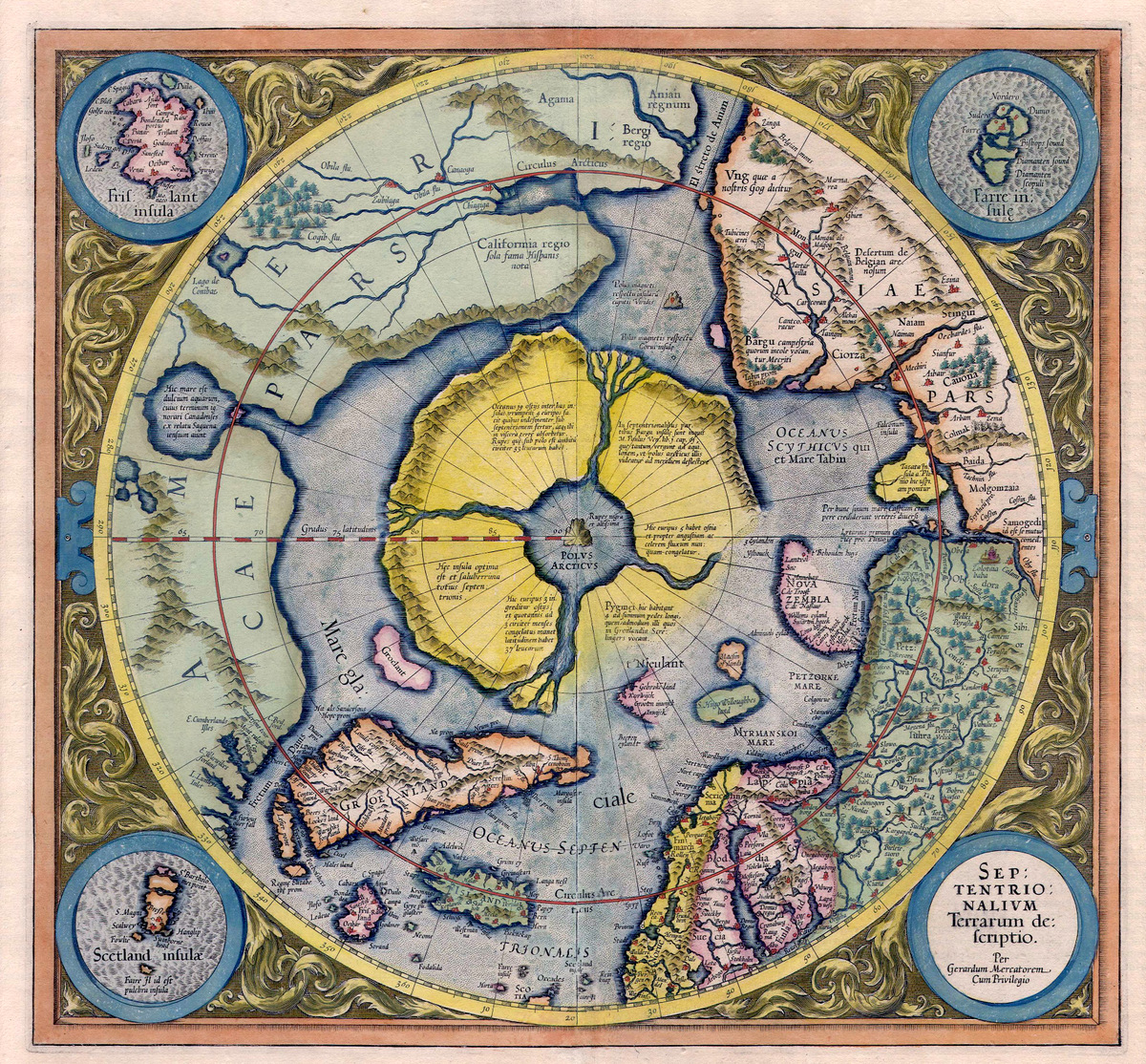 Mercator Hondius 1621