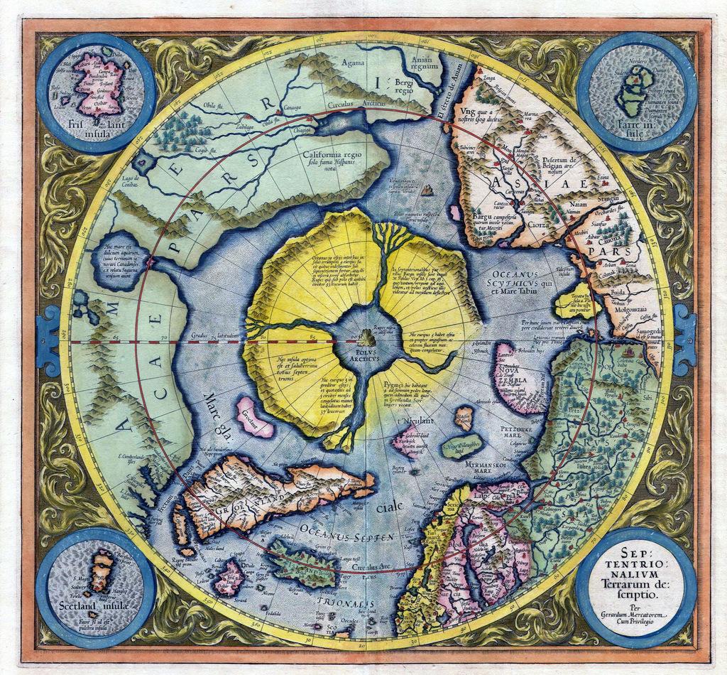 Mercator / Hondius 1621