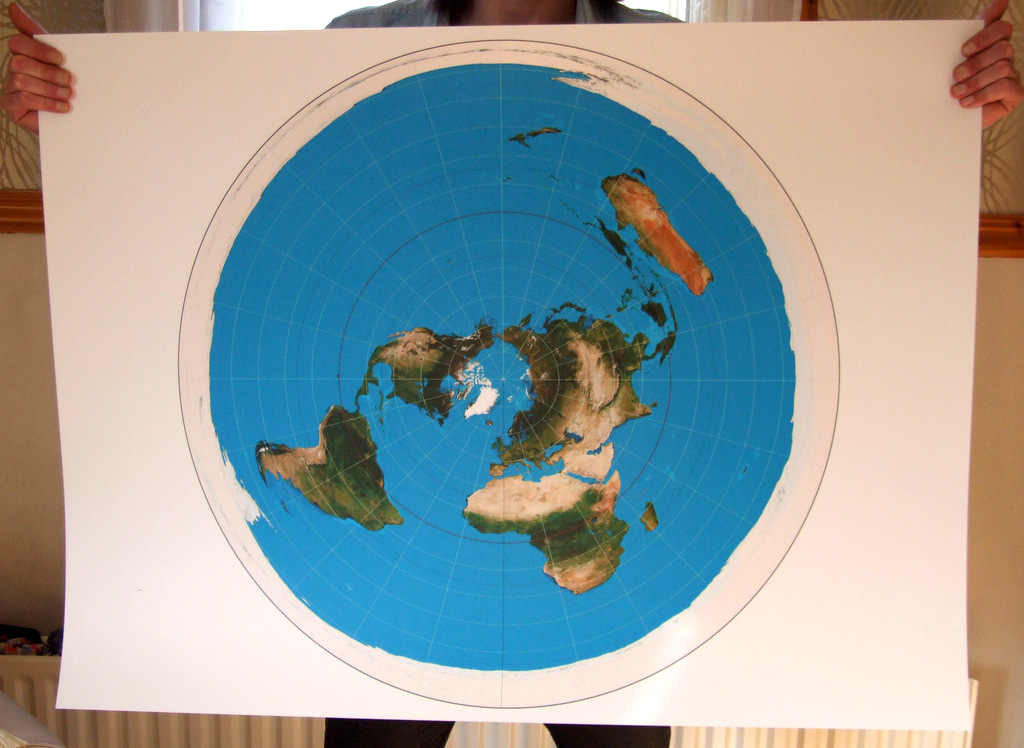 Azimuthal Equidistant (400mic Extra Thick)