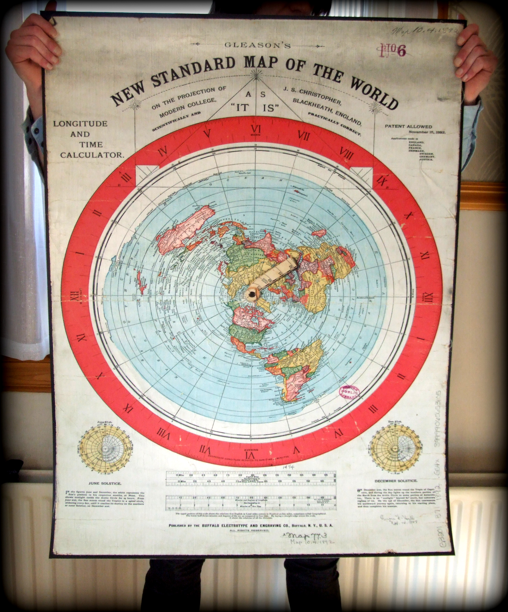 New Standard Map 40x30inch (paypal)