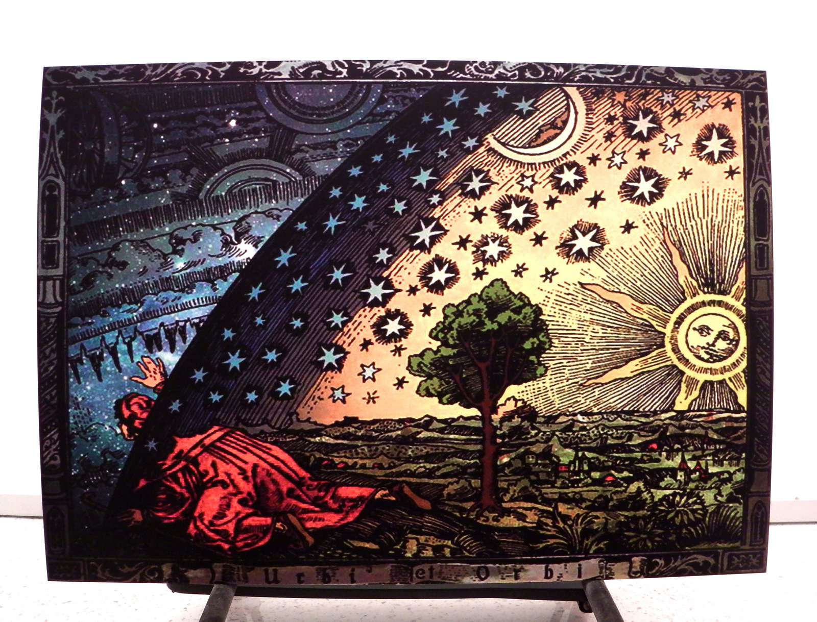The Flammarion Engraving 1888 (A3)