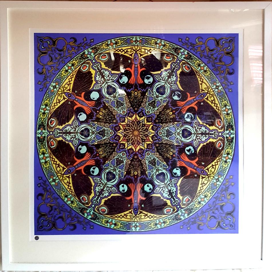 Transformation 120cm Large - Hand - finished framed print