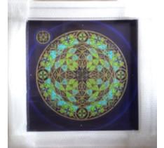 Orbital 003 - Hand - finished framed print