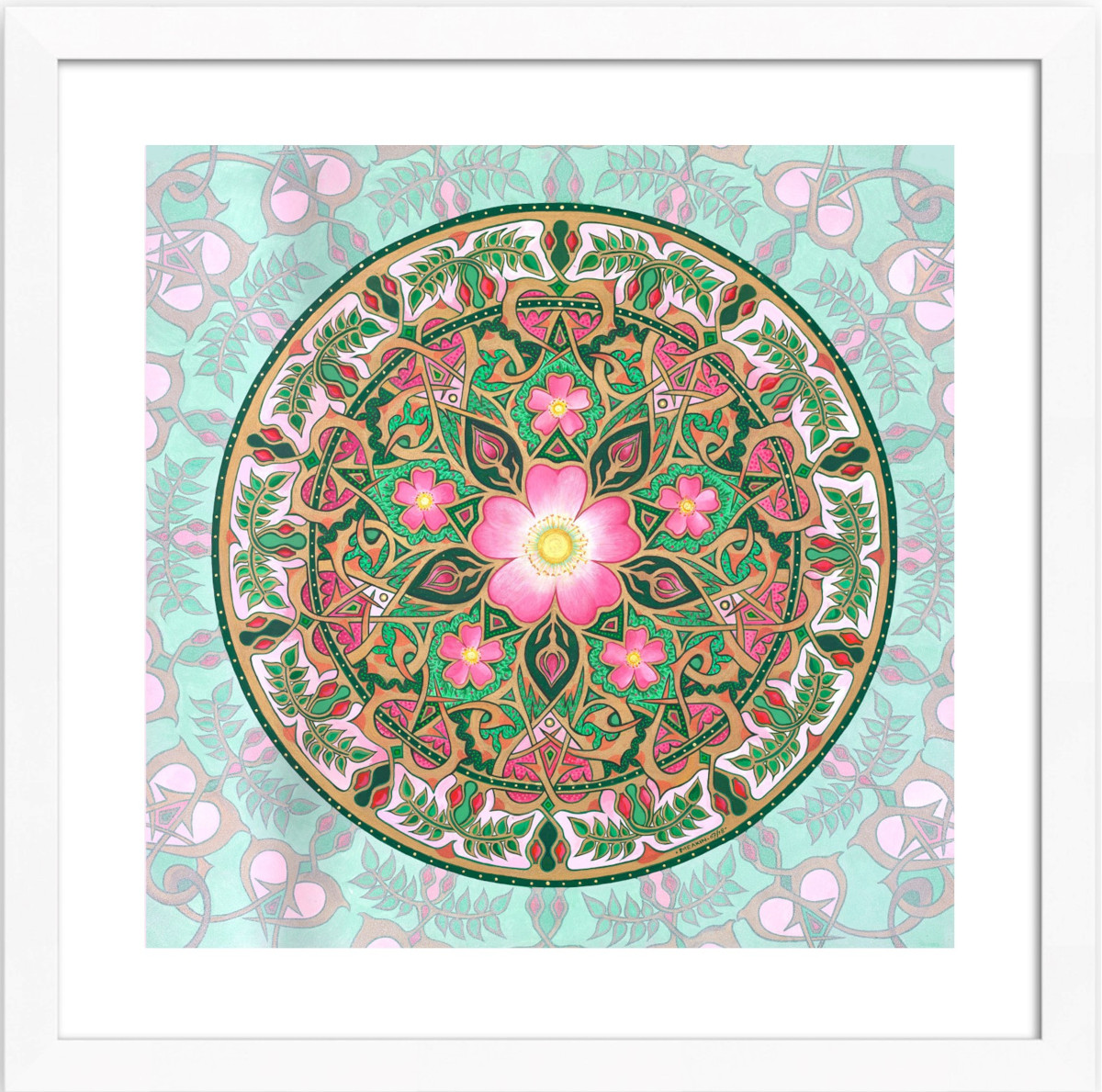 The Wild Rose Mandala