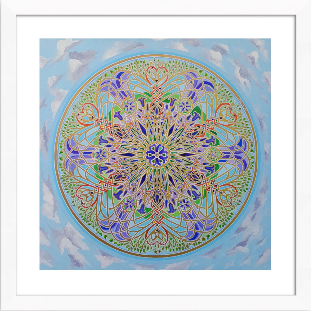 The Bluebell Mandala