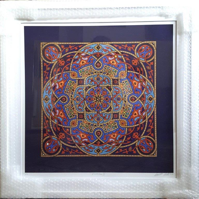 Visitation - Hand - finished framed print
