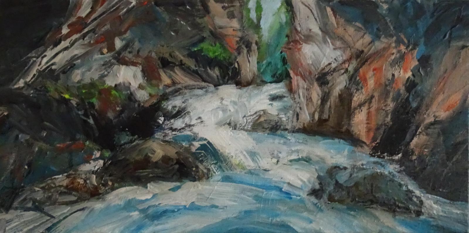 Wilde Wasserwelt in der Partnachklamm