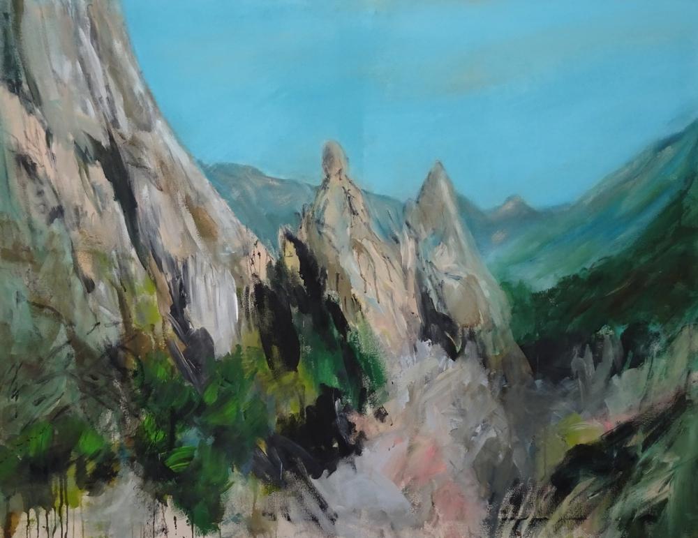 Bergwelt im Lechtal auf dem Weg zur Sulzlalm