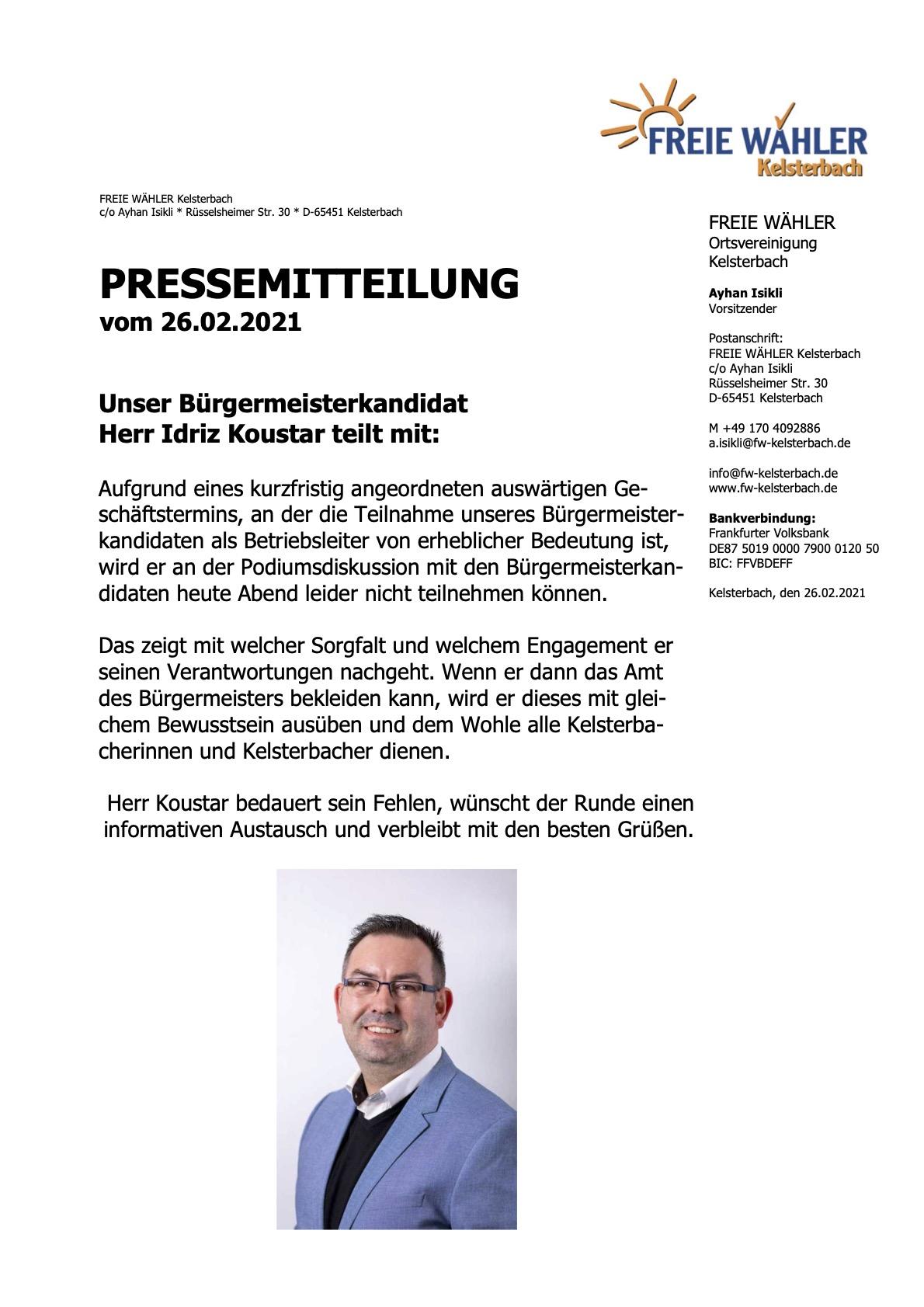 Presseerklärung