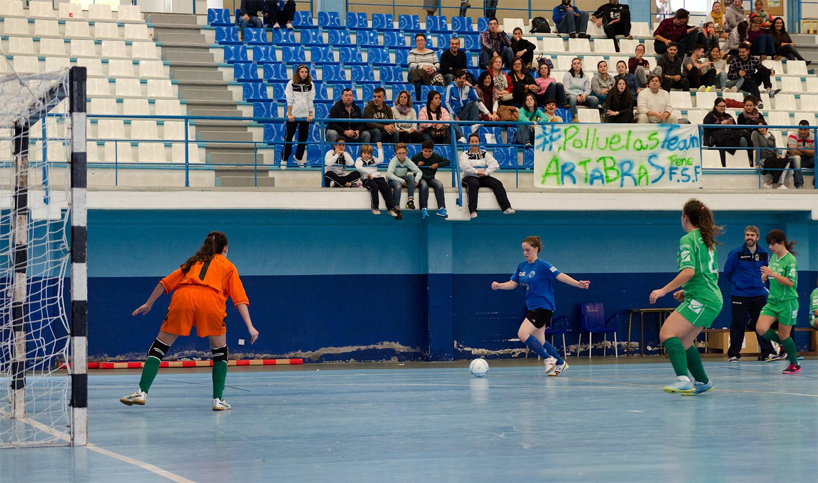 Andrea Sabio no partido contra Pontedeume