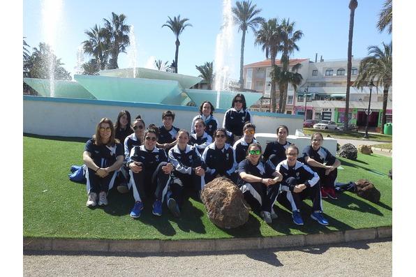 En Murcia o primeiro día sen competir