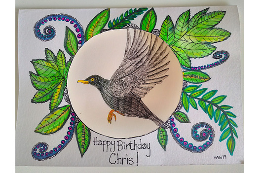 hand_made_and_drawn_card_of_a_blackbird