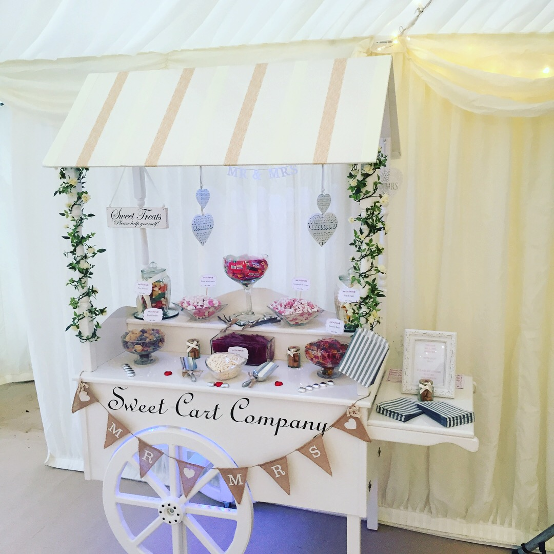 Sweet Cart Hire Company in Kent.